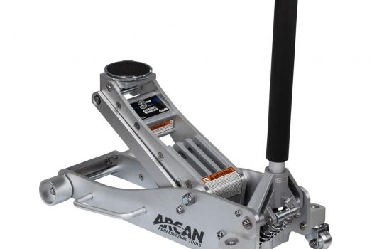 Arcan 3-Ton Quick Rise Aluminum Floor Jack with Dual Pump Pistons
