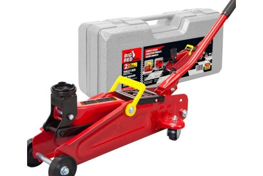 Big Red 2 Ton Hydraulic Trolley Jack with Carrying Case