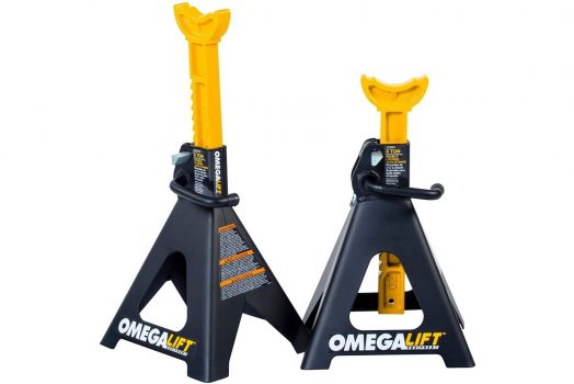 Omega Lift 6 Ton Jack Stands Heavy Duty with Dual Locking Pins