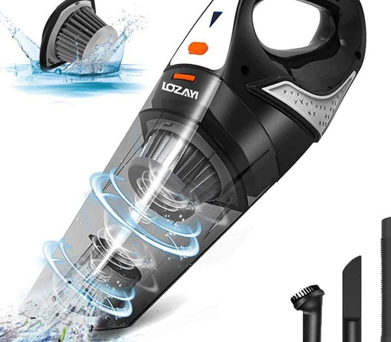5000PA Wet/Dry Vacuum Portable Car Vac Cleaner