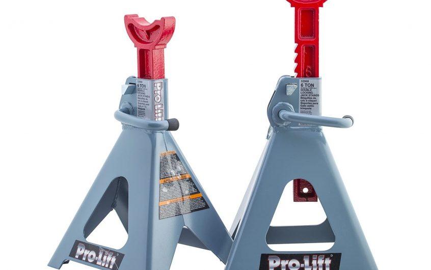 Pro-Lift T-6906D 6 Ton Double Pin Jack Stands – Pair