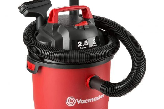 Vacmaster Portable Wet Dry Shop Vacuum 2.5 Gallon 2 Peak HP 1-1/4 inch Hose