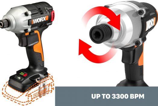 Worx 20V Impact Driver – Bare Tool