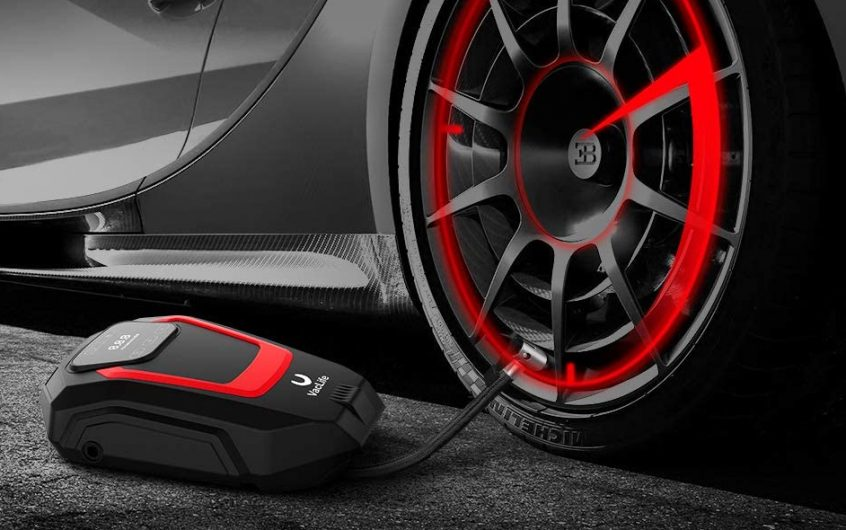 VacLife Air Compressor Tire Inflator – 12V Air Pump Touchscreen for Car Bicycles Tires